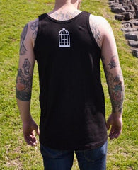 Frivolous Maximus Tank Top in Black