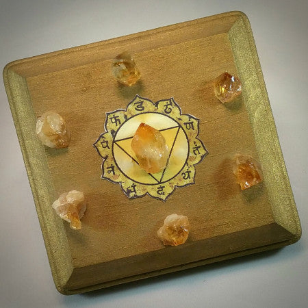 Citrine Crystal Grid