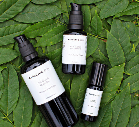 BareChic Skin organic micro batched skincare line offering luxurious hydrating and invigorating nourishing and organic solutions to skin needs. anti-chemical ethical skincare in mind formulated for a more globally aware customer
