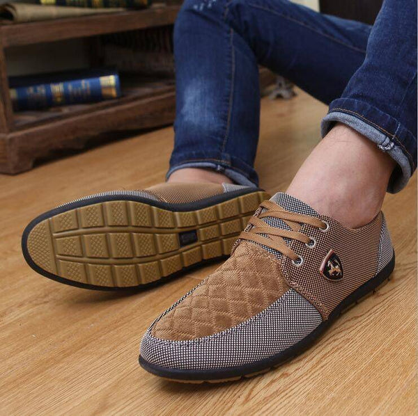 Patchwork Mustang Shoes Mens