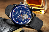 Automatic Heritage Black Edition - Mens Watches - 98apparel