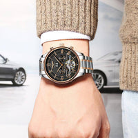 Automatic Heritage Stainless Steel - Mens Watches - 98apparel