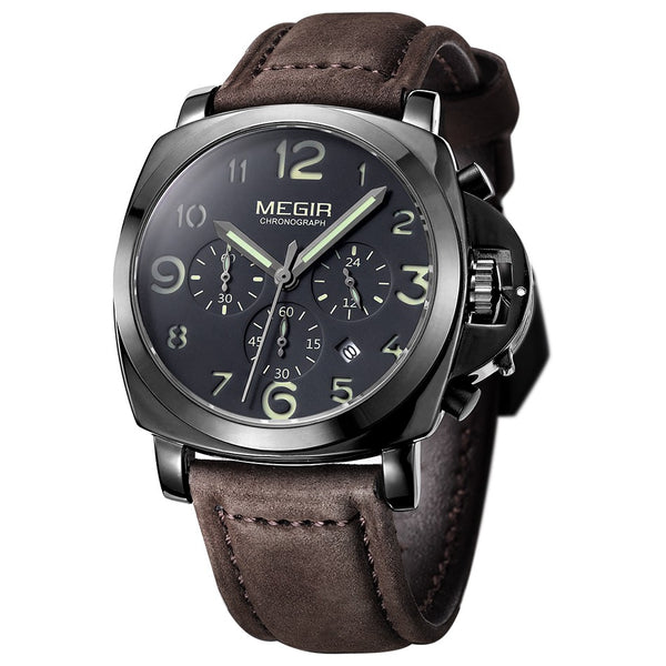 MEGIR Men's Chronograph - Quartz Watches - 98apparel