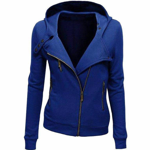 Women's Assassin's Style Hoodie - Basic Jackets - 98apparel