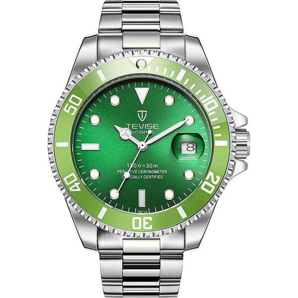 Automatic Submarine Series - Green - Watch - 98apparel