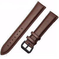 Genuine Leather Watch Strap - Brown, Band Width - 18mm - Watch Straps - 98apparel