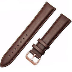 Image of Genuine Leather Watch Strap - Brown