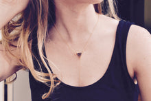 Druzy Lariat Necklace