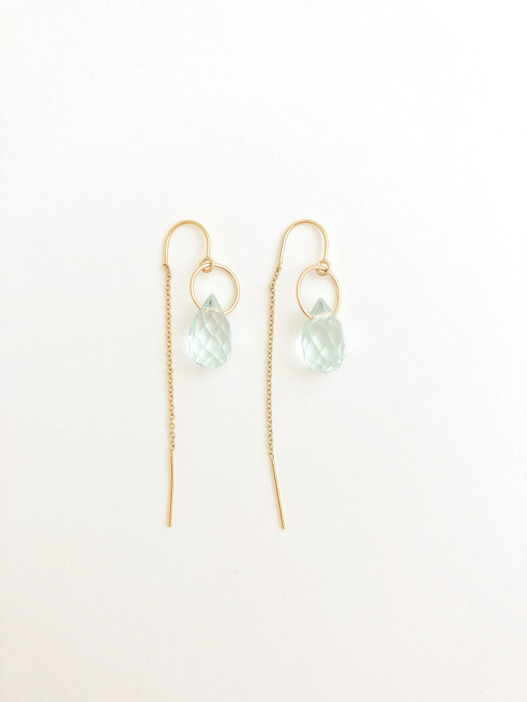 Iris Threader Earrings