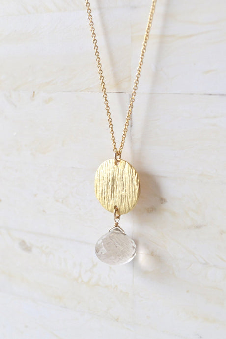 Tourmaline Quartz Necklace