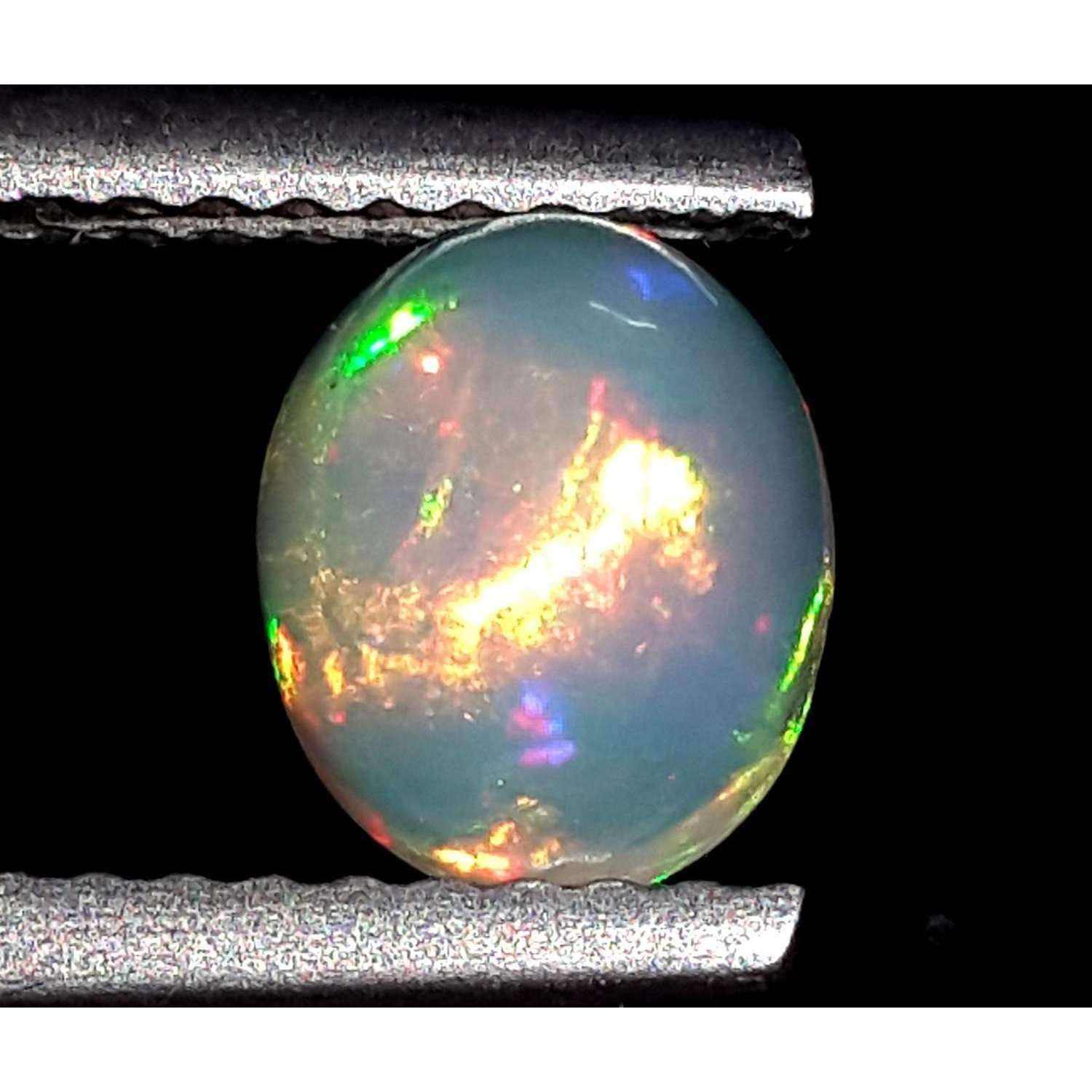 0.7 Ct 100% Natural Ethiopian Opal Loose Gemstone 7 X 6 X 4.5 MM LOT 129