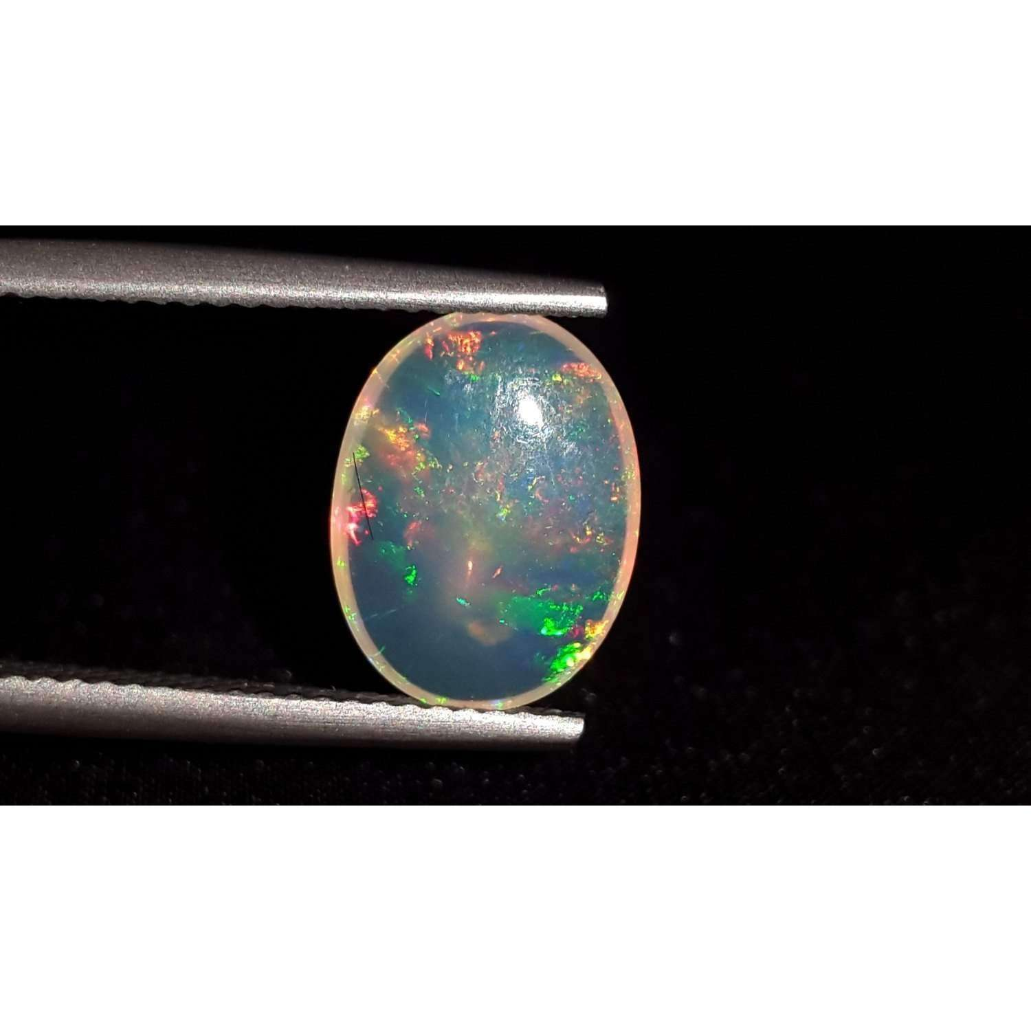 1.3 Ct 100% Natural Ethiopian Opal Loose Gemstone 12 X 9 X 3 MM LOT 130