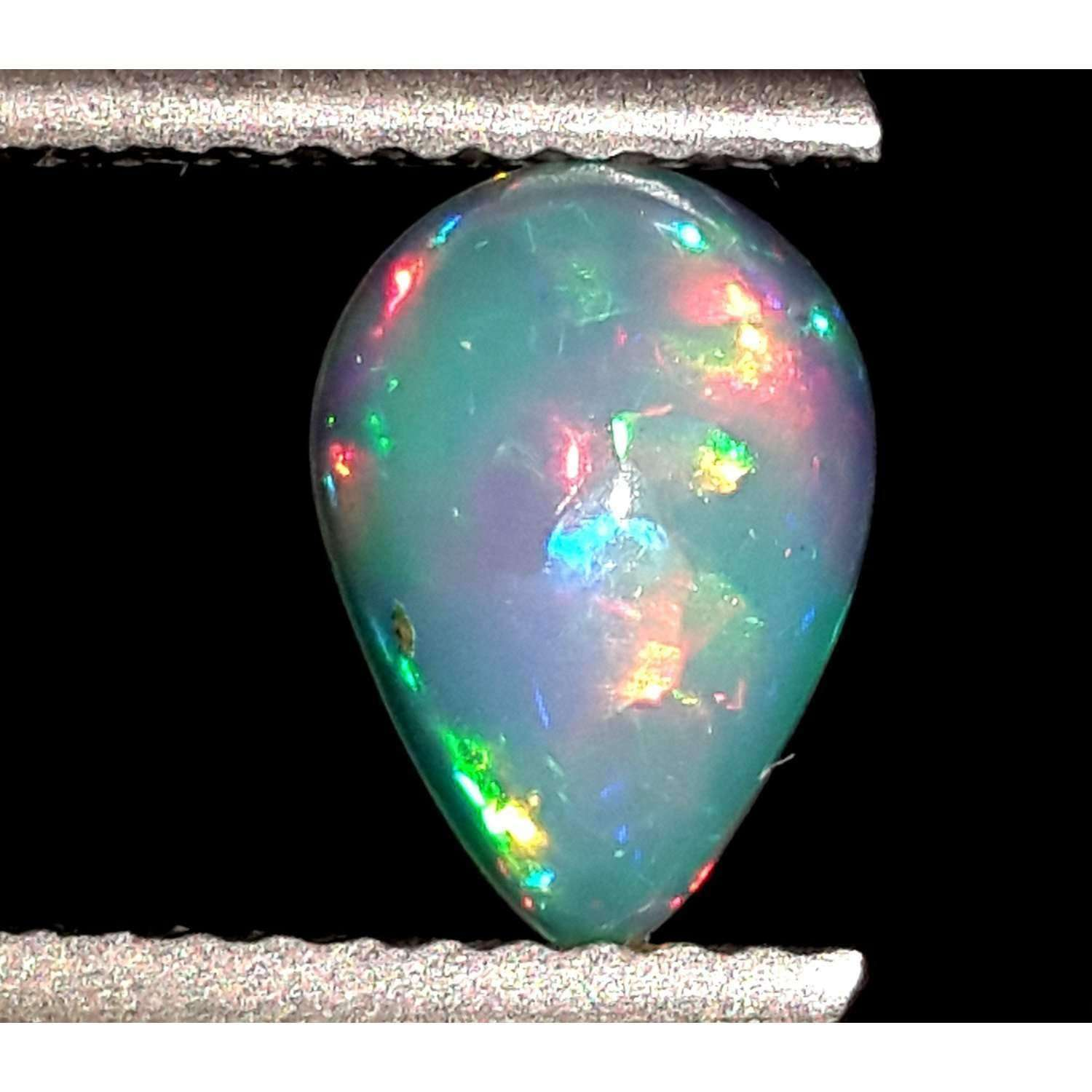 0.7 Ct 100% Natural Ethiopian Opal Loose Gemstone 8.5 X 6 X 4 MM LOT 131