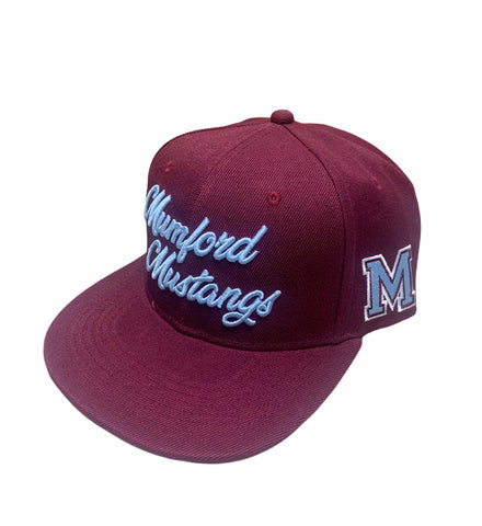 Image of Mumford Mustangs high school snapback
