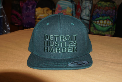 Image of DETROIT HUSTLES HARDER CAP