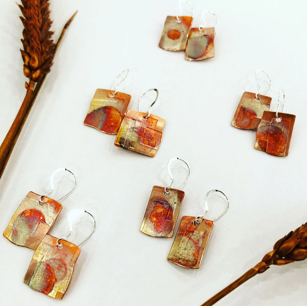 Prairie Patchwork Earrings