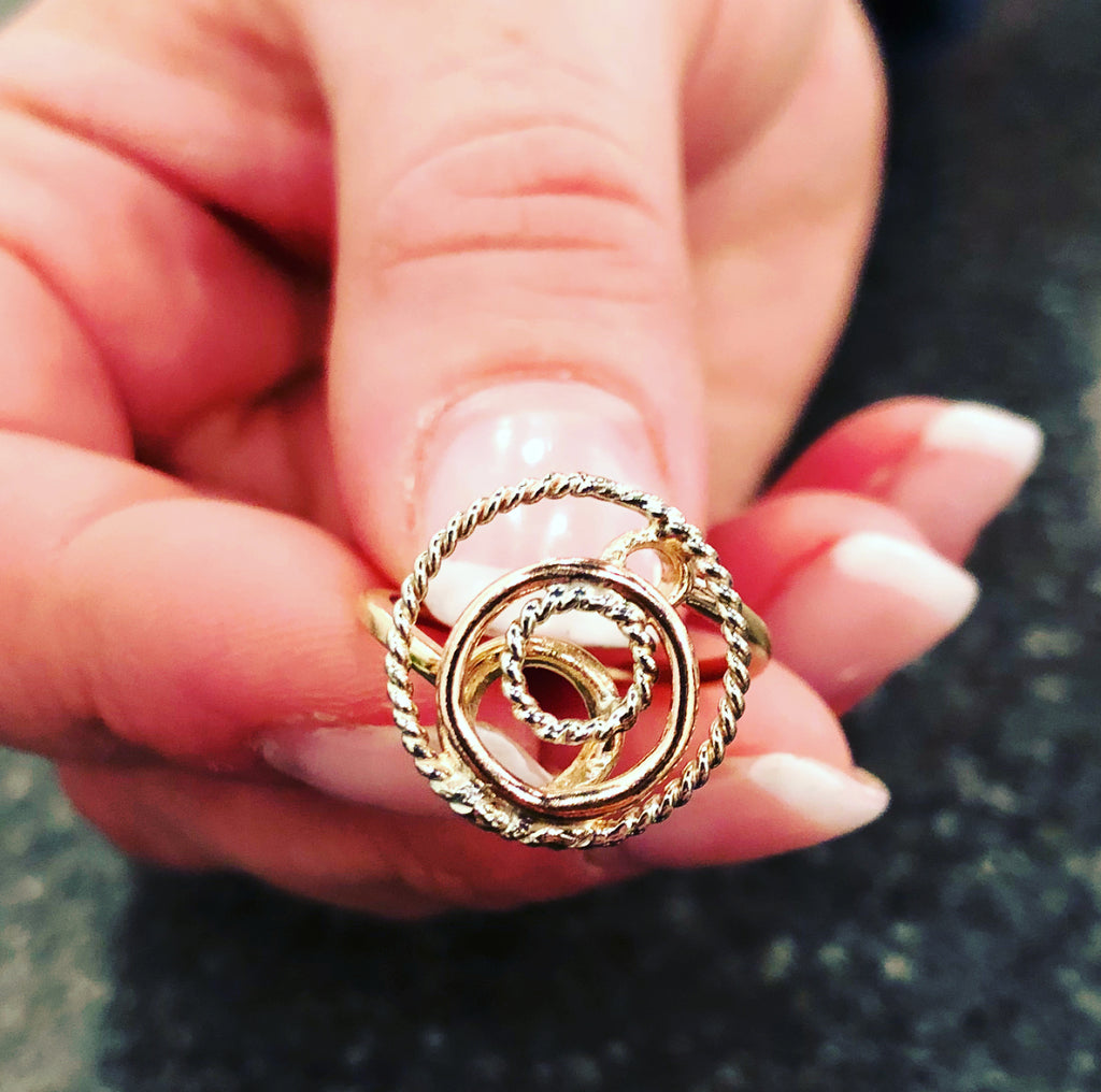 One-of-a-Kind Gold Ring
