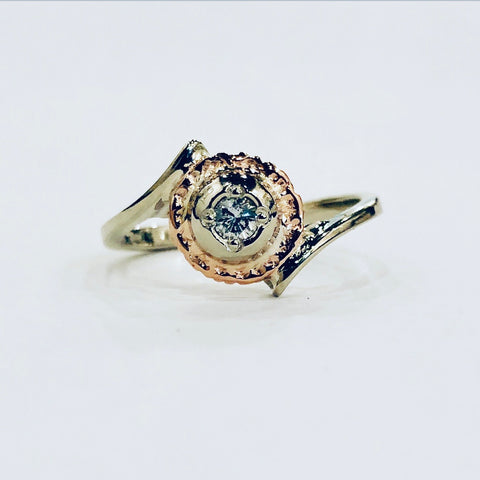One-of-a-Kind Diamond & Gold Ring