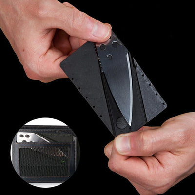 Credit Card Knife Folding With Stainless Steel Blade