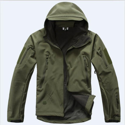Mens TAD Gear Soft Shell Fleece Waterproof Men Jackets & Pants