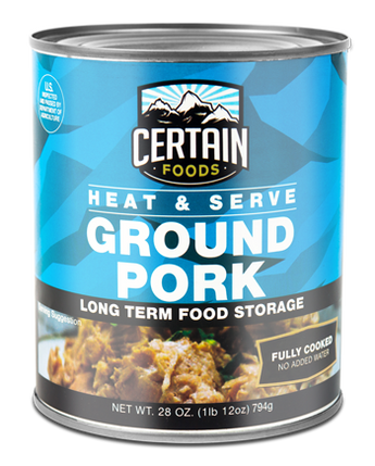 CERTAIN FOODS- PORK CANNED MEAT 28 OZ