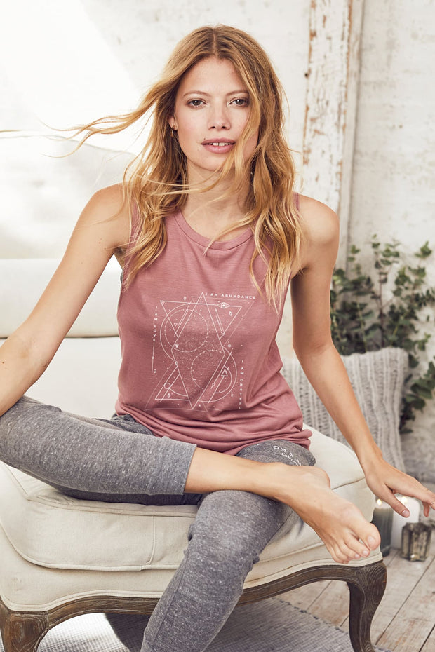 """Cosmic Mantra"" Lounge Tank"