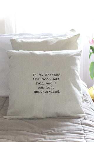 """Full Moon"" Cushion Cover"