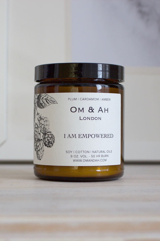 """I am Empowered"" Candle"