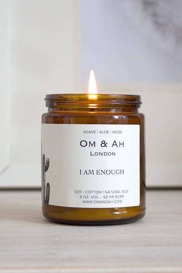 """I am Enough"" Candle"