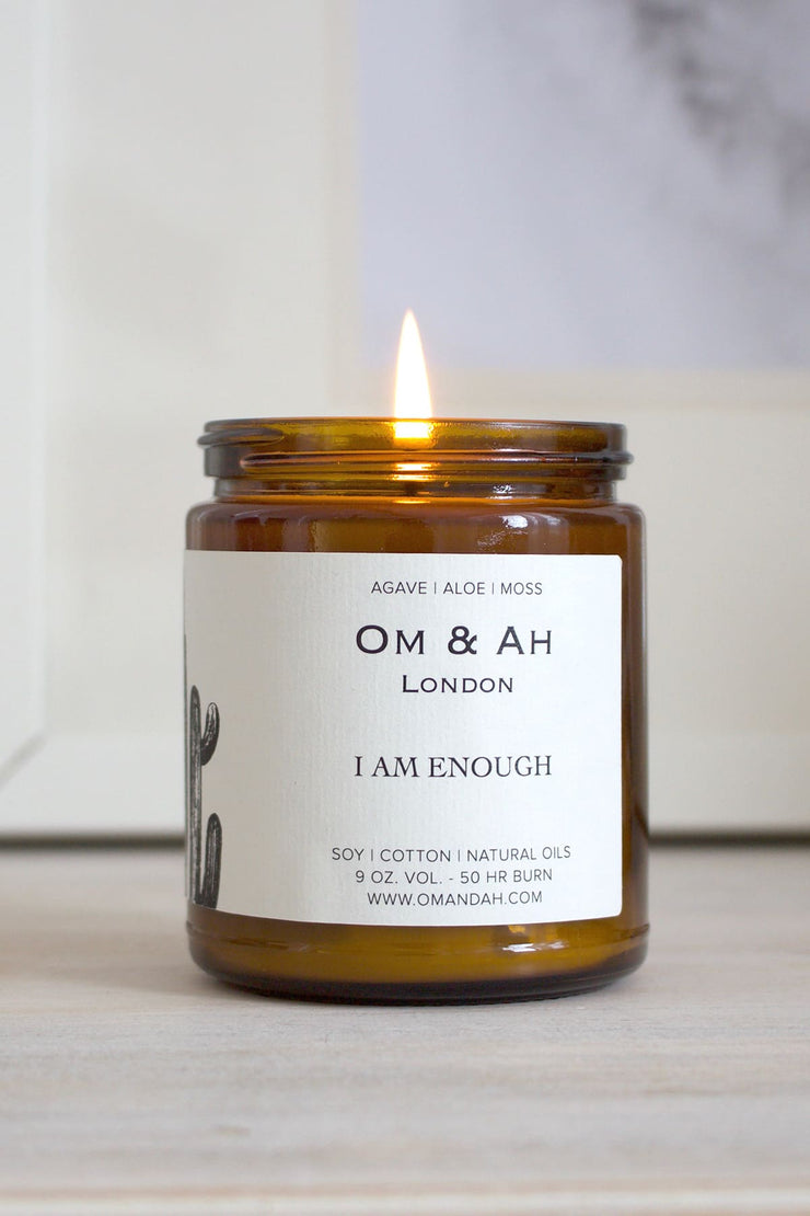 "NEW ""I am Enough"" Candle"
