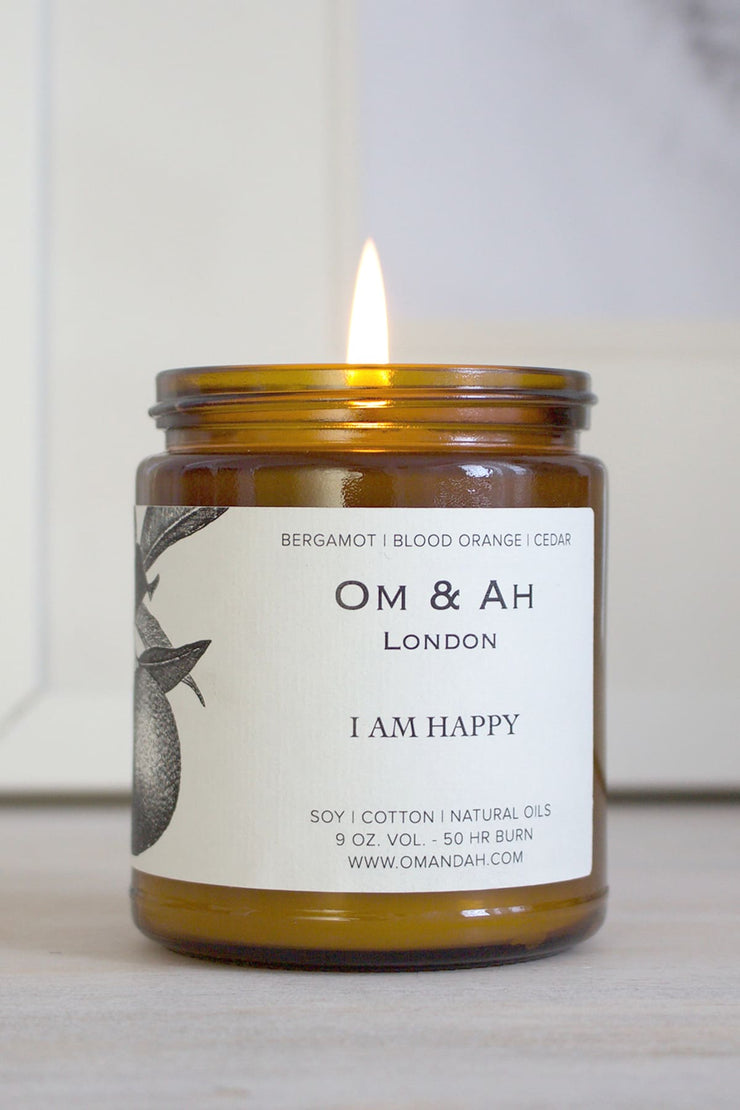 """I am Happy"" Candle"