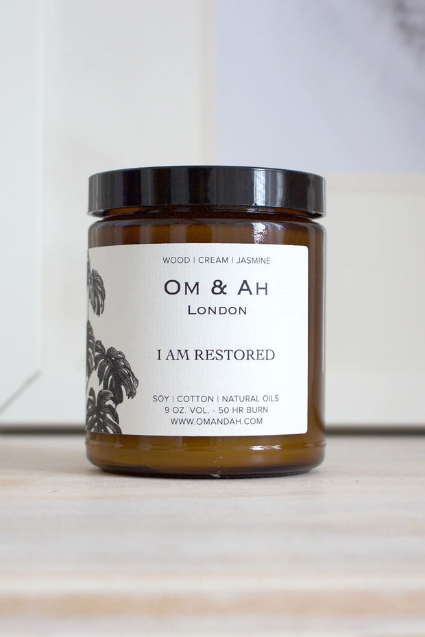 "NEW ""I am Restored"" Candle"