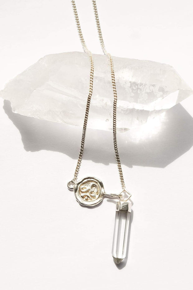 Clarity Quartz Pendant