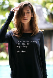 """Be Kind"" Long Sleeve Tee"