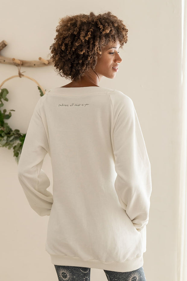Luxury Embroidered Pullover