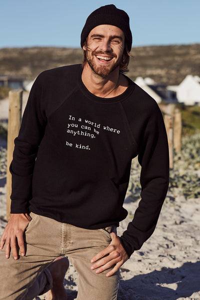 """Be Kind"" Mens Sweater"