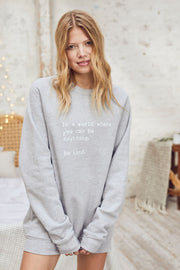 """Be Kind"" Relaxed Sweater"