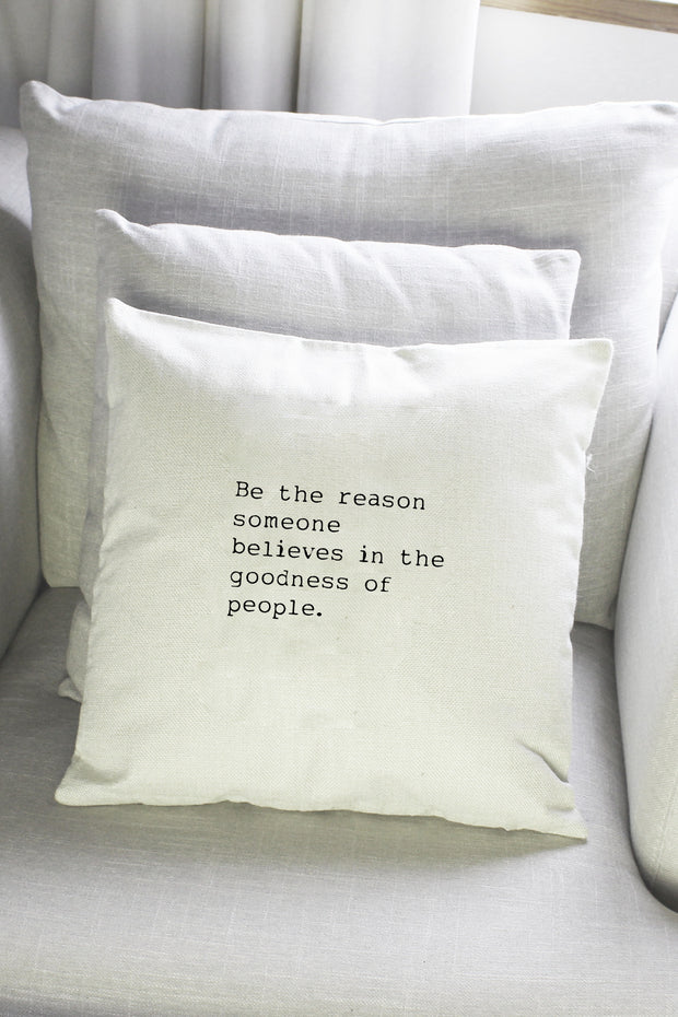 """Be The Reason"" Cushion Cover"