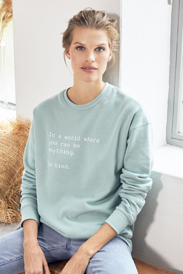 """Be Kind"" Comforter Sweater"