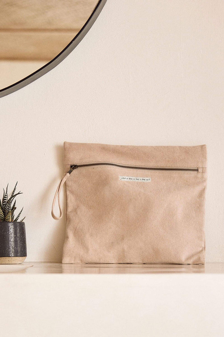 Elegant Zip Pouch Bag
