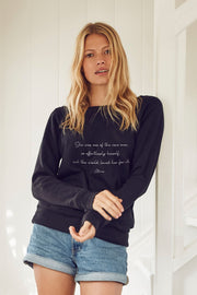 """Effortlessly Herself"" Cozy Pullover"