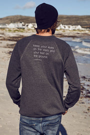 """Eyes On The Stars"" Mens Sweater"