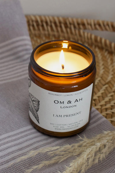 "NEW ""I am Present"" Candle"