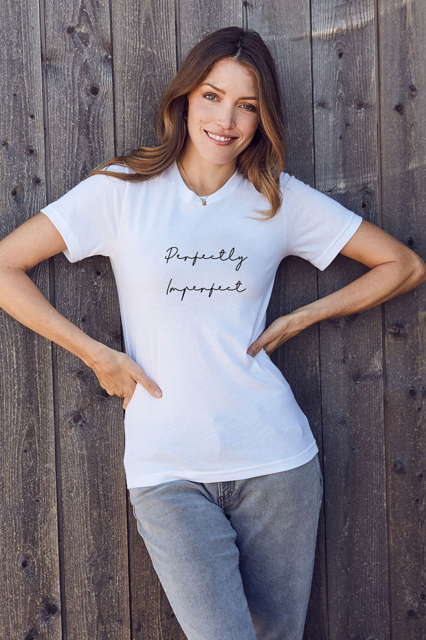 """Perfectly Imperfect"" Short Sleeve Tee"