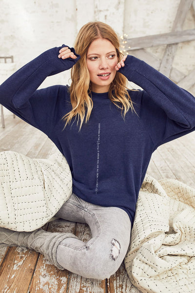 """Rumi"" Relaxed Sweater"