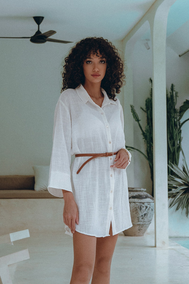 Love Tunic in French White