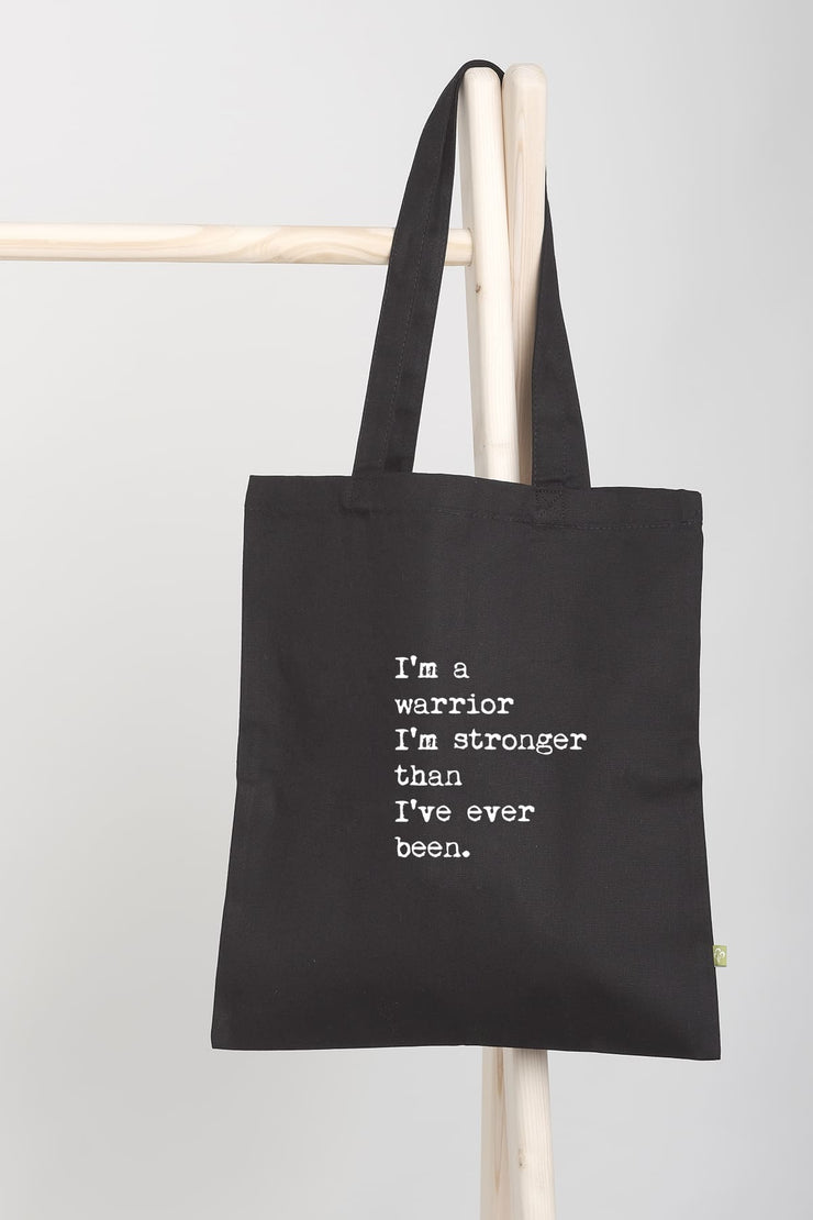 """Warrior"" Tote Bag"