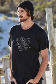 """Wise Words"" Mens Tee"