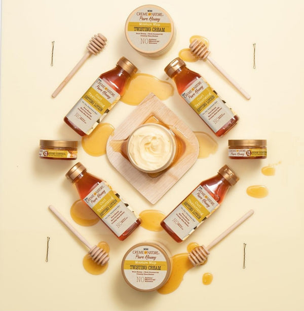 Indulge your Hair in Pure Honey!