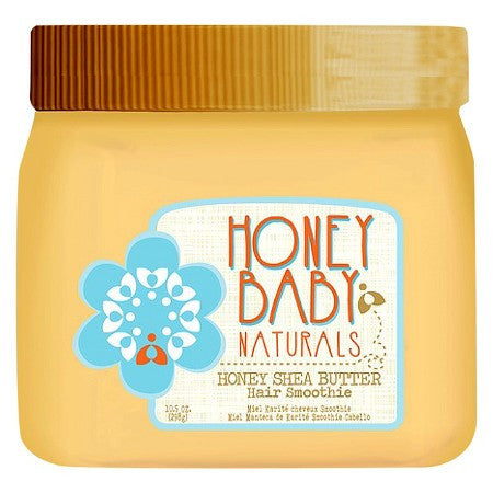 A jar of Honey Baby Naturals Hair Smoothie
